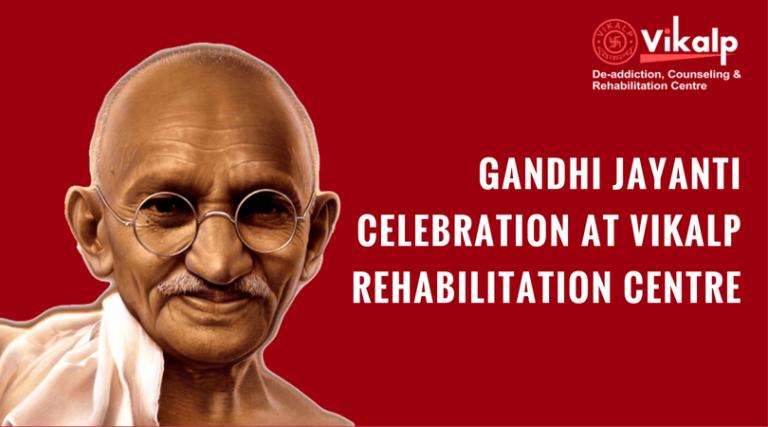 Gandhi jayanti Celebration at Vikalp Rehab