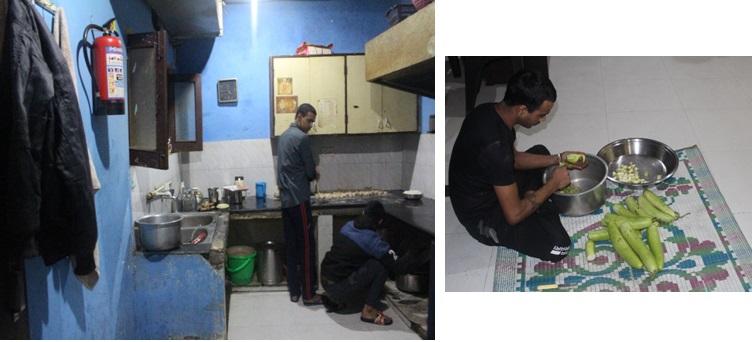 food condition at Vikalp Reahab
