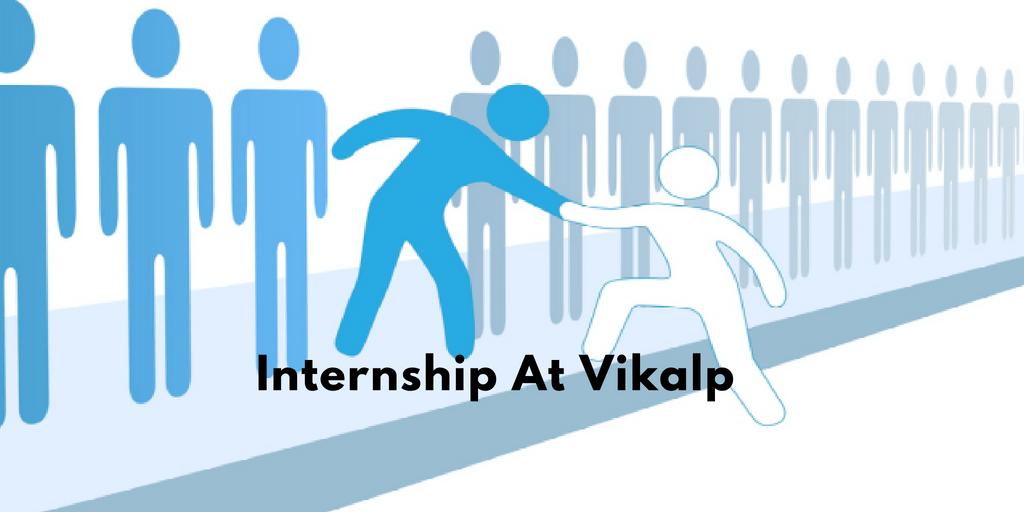 Internship at vikalp