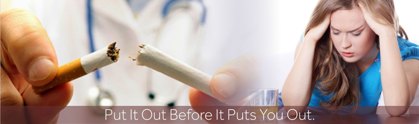 How to quit smoking at rehab centre